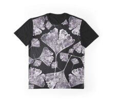 Leaf inverted printed pattern Graphic T-Shirt