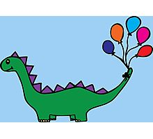 Whimsical Dino Photographic Print