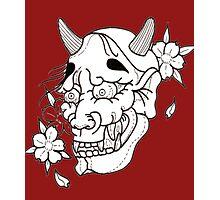 Oni Daemon tattoo  Photographic Print