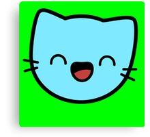 Kawaii Kitty Cats 2048 - tile 32 Canvas Print