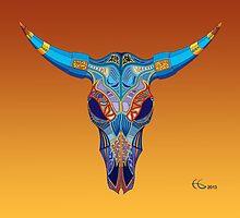 Cow Skull by Hamish Graham