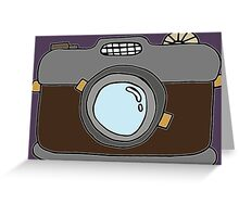Retro Camera -Version 1 Greeting Card
