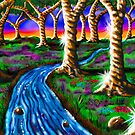 """Caramel Tree Forest 23"" by Steve Farr"