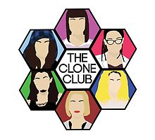 Clone Club Hexagon (Color) - Orphan Black by iTheressa