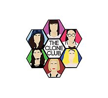 Clone Club Hexagon (Color) - Orphan Black Photographic Print