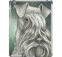 Kerry Blue on Canvas iPad Case/Skin