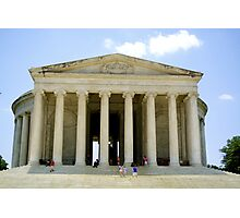 Jefferson Memorial Photographic Print