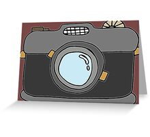 Retro Camera - Version 2 Greeting Card
