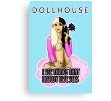 Melanie Martinez Dollhouse BJD Quote Canvas Print