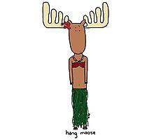 hang moose hula Photographic Print