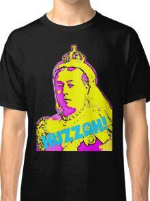 Huzzah! Queen Victoria Psychedelic Pop Art Classic T-Shirt
