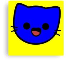 Kawaii Kitty Cats 2048 - tile 128 Canvas Print