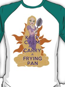 Keep Calm and Carry a Frying Pan T-Shirt