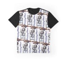 Happy Hour (Large Mosaic - White Background) Graphic T-Shirt