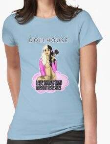 Melanie Martinez Dollhouse BJD Quote Womens Fitted T-Shirt