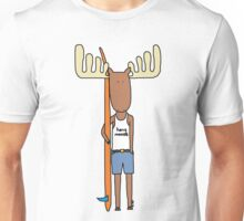 hang moose surfer dude Unisex T-Shirt