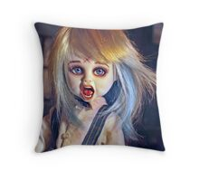 The Living Dead Dolls Thump Repaint: Vincent Ver.1 Throw Pillow