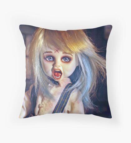 The Living Dead Dolls Thump Repaint: Vincent Ver.1 Throw Pillow