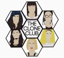 Clone Club Hexagon - Orphan Black T-Shirt