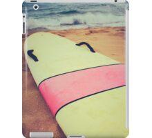 Vintage Hawaii Surf Board iPad Case/Skin