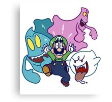Luigi's Being Chased by Ghosts Canvas Print