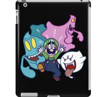 Luigi's Being Chased by Ghosts iPad Case/Skin