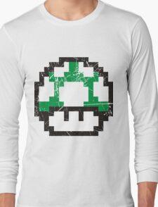 Green Mushroom Long Sleeve T-Shirt