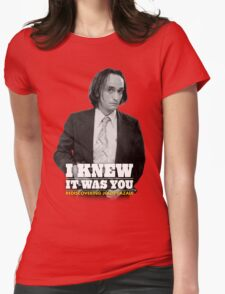 I Knew It Was You | Rediscovering John Cazale Womens Fitted T-Shirt