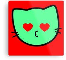 Kawaii Kitty Cats 2048 - tile 1024 Metal Print