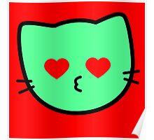 Kawaii Kitty Cats 2048 - tile 1024 Poster