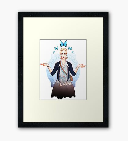 Ascension is Near Framed Print
