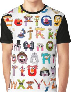 Sesame Street Alphabet Graphic T-Shirt