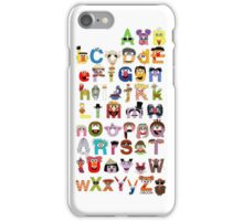 Sesame Street Alphabet iPhone Case/Skin