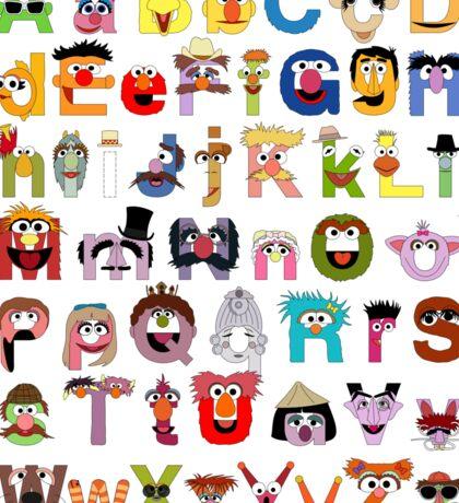 Sesame Street Alphabet Sticker