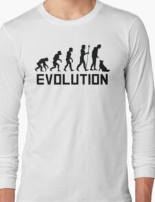 Dog Trainer Evolution Long Sleeve T-Shirt