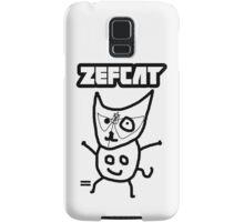 Zef Cat Samsung Galaxy Case/Skin