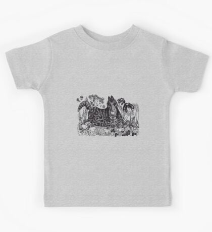 A Stroll through the Garden Kids Tee