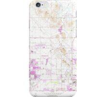 USGS TOPO Map Arizona AZ Union Hills 313884 1964 24000 iPhone Case/Skin