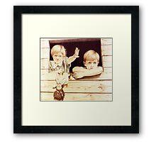 Tree House Children Framed Print