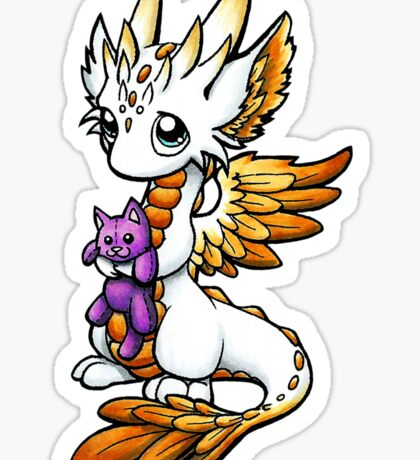 Sweet Angel Dragon Sticker