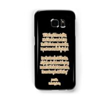J.R.R, Tolkien, The Fellowship of the Ring, All that is gold does not glitter, Samsung Galaxy Case/Skin