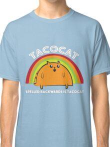 Tacocat spelled backwards is Tacocat Classic T-Shirt