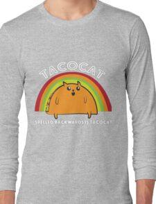 Tacocat spelled backwards is Tacocat Long Sleeve T-Shirt