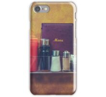 Retro Hipster Diner Detail iPhone Case/Skin