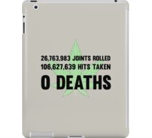 Legalize Weed Cool Funny Smoking Joint Stats iPad Case/Skin