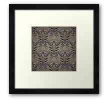 Genuine,original,art deco,art nouveau,wall paper, pattern Framed Print