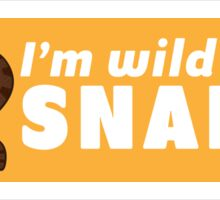 I'm Wild About Snakes Sticker