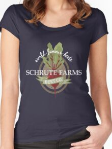 Schrute Farms - The office Women's Fitted Scoop T-Shirt