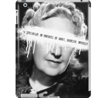 Swagatha Christie iPad Case/Skin