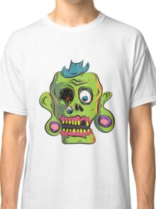 Zombie Skull Classic T-Shirt